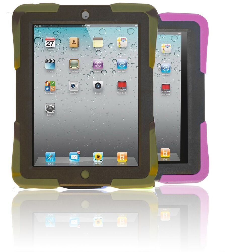 Kids Safe Military Grade Shockproof Heavy Duty Case Cover For Ipad Mini 1 2 3 Ebay