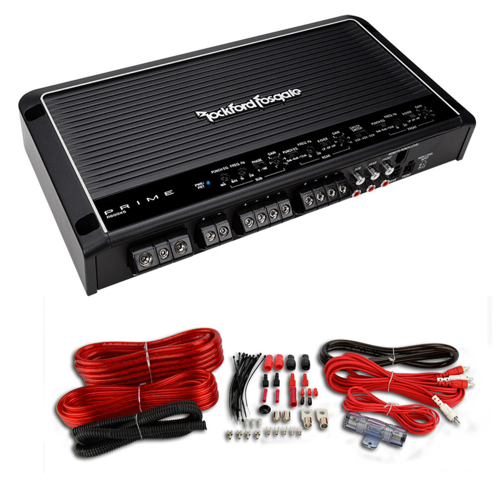 Rockford Fosgate R600x5 600 Watt 5 Channel Amplifier Car
