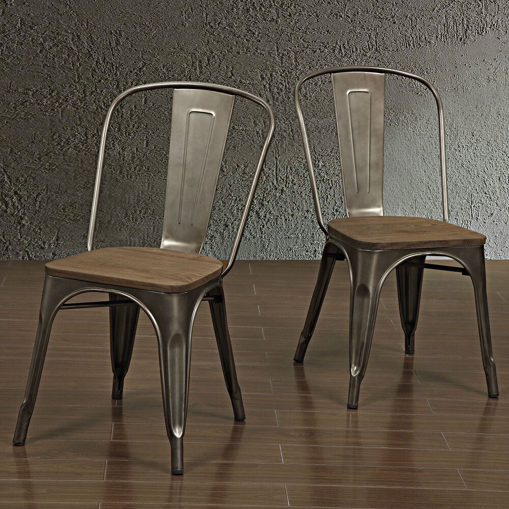 Metal kitchen chairs dining room furniture seating for Kitchen dining room chairs