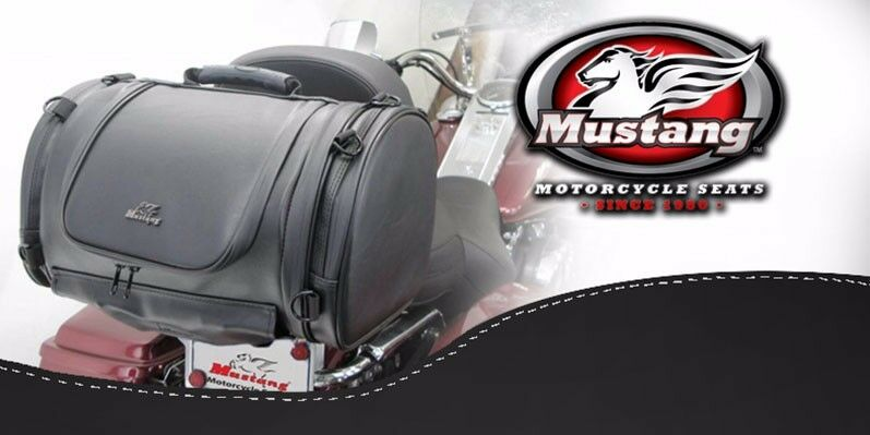 Mustang Sissy Bar Luggage Bag Fit Any Motorcycle With