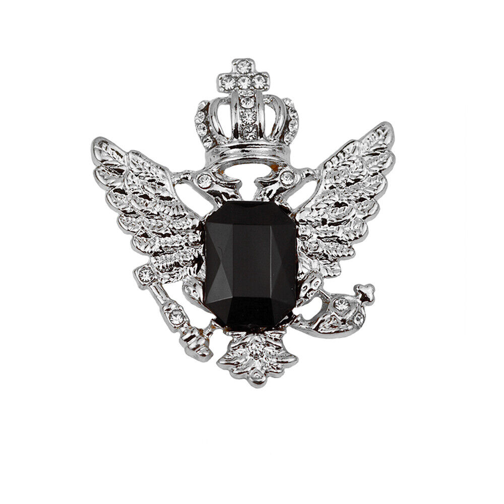 Men's Vintage Style Eagle Brooch Pin Small