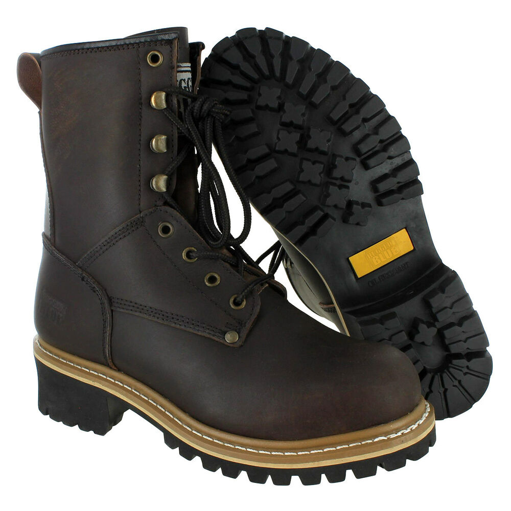Leather Men's Work & Safety Boots | eBay