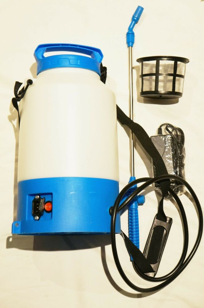 1 Gallon 12v Battery Powered Electric Sprayer Stainless Wand 1gal No Pumping Ebay