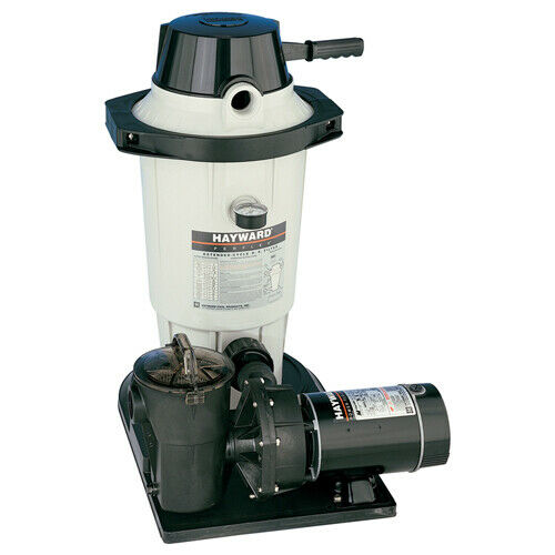 Hayward ec50c93s aboveground pool de filter system with 1 for Inground pool pump and filter systems