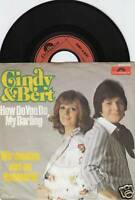 CINDY & BERT How Do You Do, My Darling 45/GER/PIC