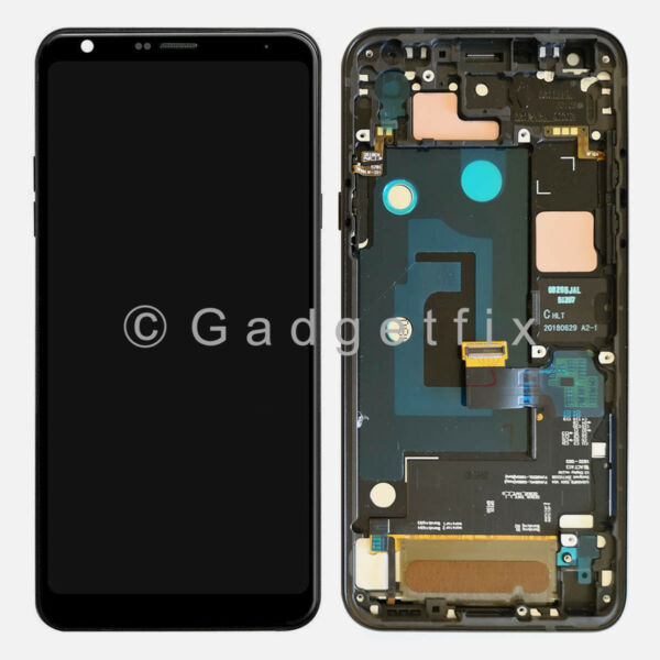 LCD Display Touch Screen Digitizer + Frame Replacement For LG Q7 Alpha | Q7 Plus
