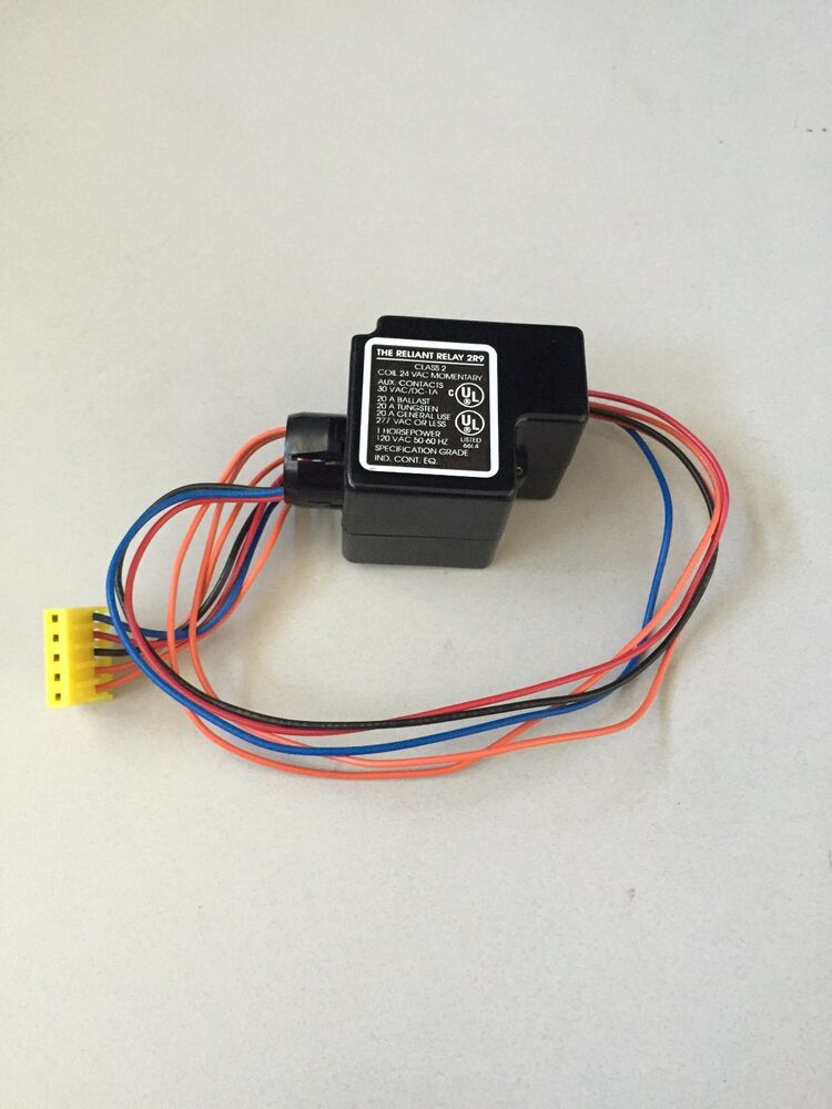 Reliant Relay 2r9 Class 2 Coil 24 Vac Momentary Ebay