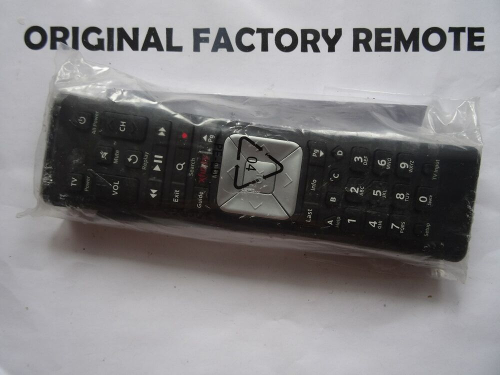 Comcast Xr5 Remote: Xfinity Comcast Xr5 Rf Remote Control X1 W
