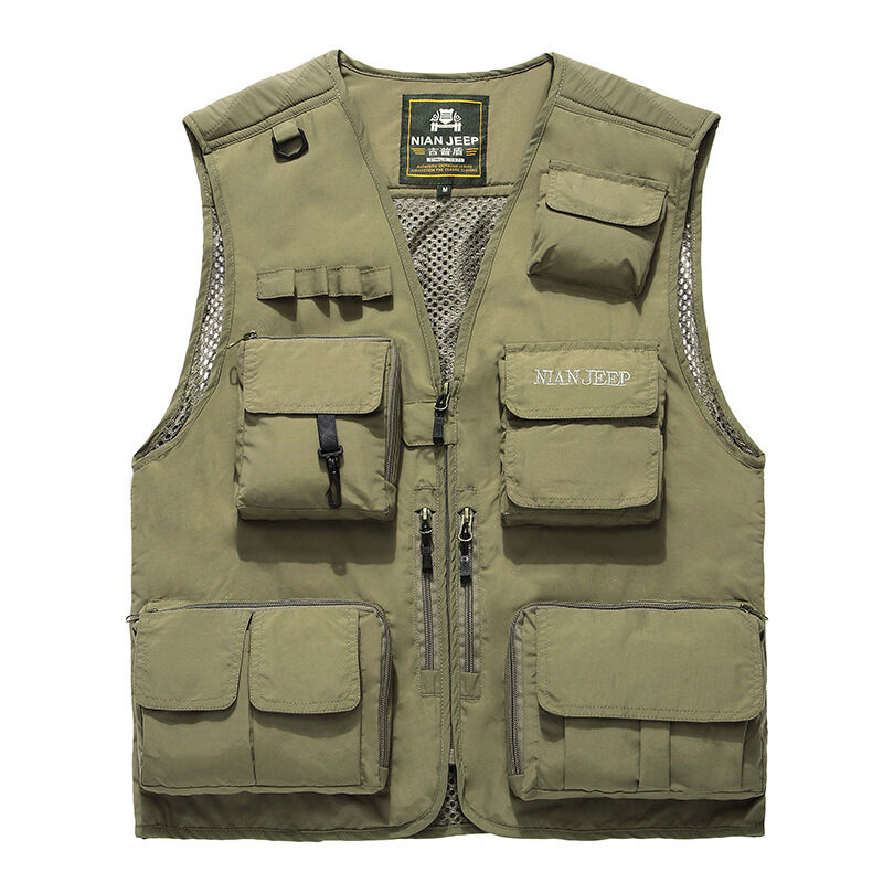 Mens outdoor quick dry safari fishing photography multi for Big and tall quick dry shirts