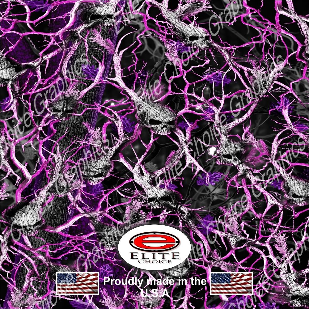 Oblit Skull Pink Camo Decal 3m Wrap Vinyl 52 Quot X15 Quot Truck Print Real Camouflage Ebay
