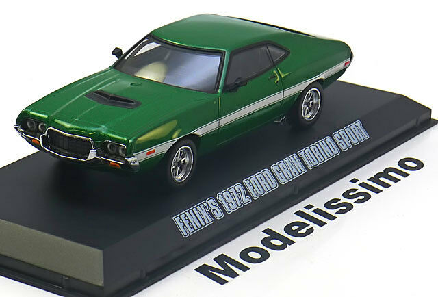 1 43 greenlight ford gran torino from the movie fast. Black Bedroom Furniture Sets. Home Design Ideas