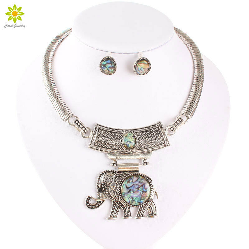 new ethnic jewelry sets tibet silver statement big