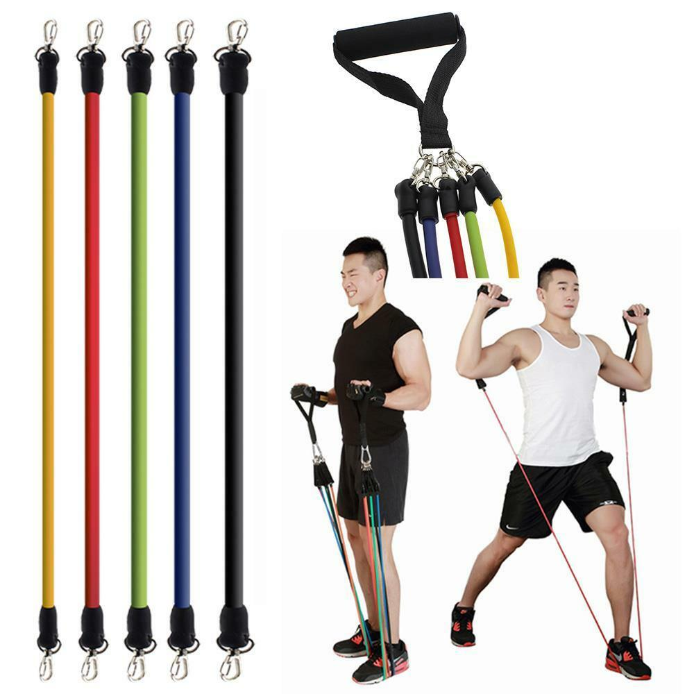 Workout Bands Com: Elastic Fitness Resistance Bands Exercise Tubes Pull Rope