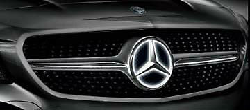 Mercedes Benz Front Grill Illuminated Led Star 2014 2015