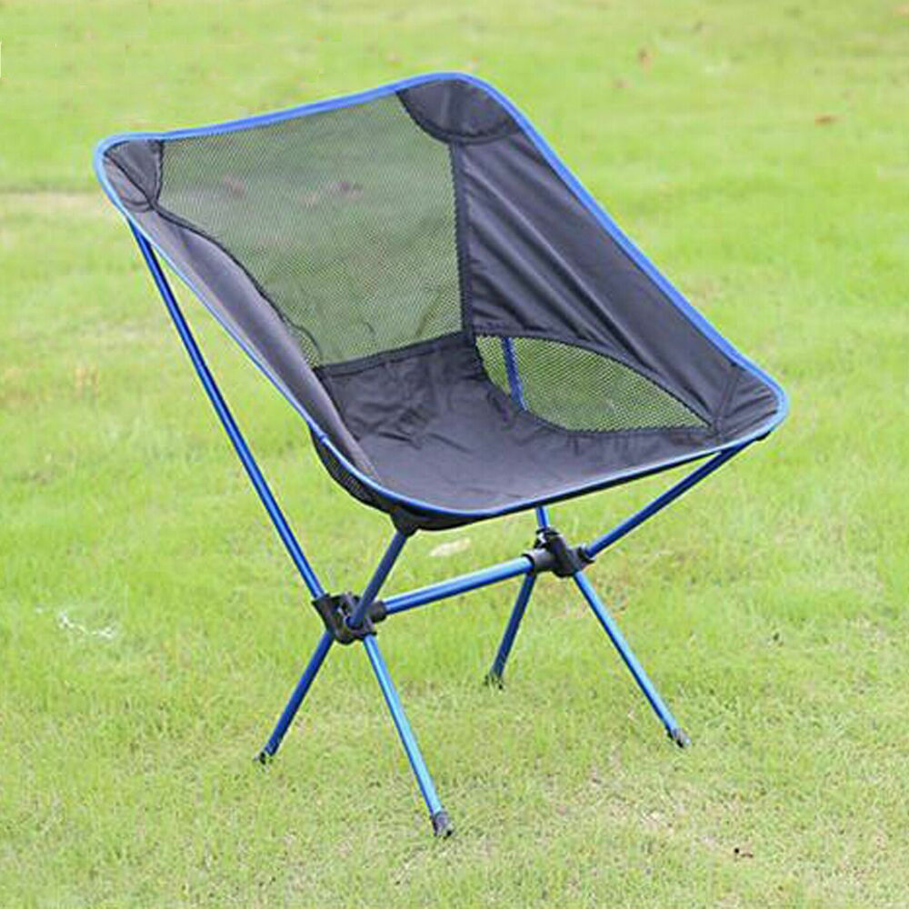 Portable Folding Seat Stool Fishing Camping Hiking Beach