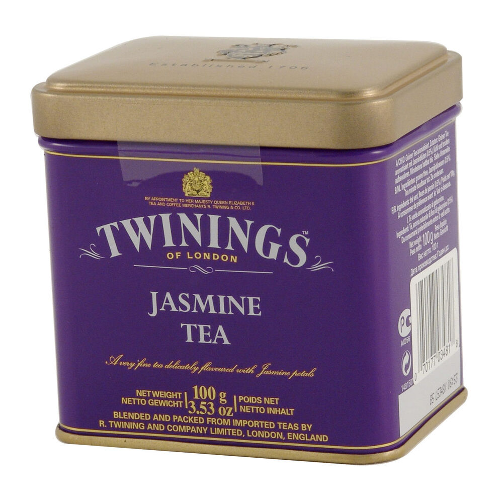 Twinings Jasmine Green Loose Tea Tin 3 53oz 100g Ebay