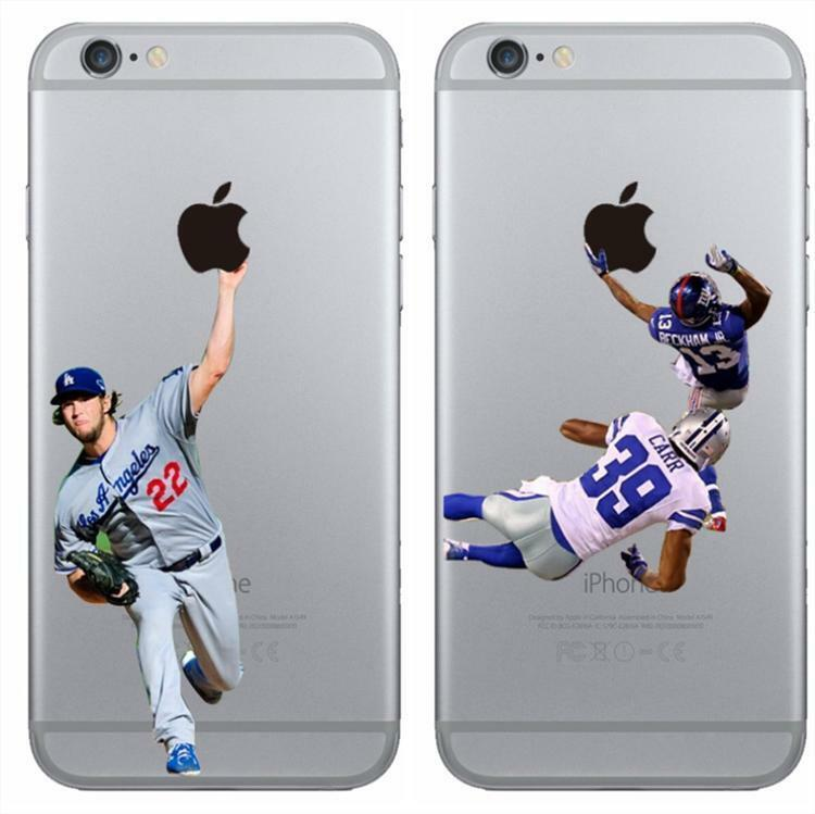 New Rugby Baseball Sport Clear TPU Phone Case Cover for iPhone 5 6 S 7 ...