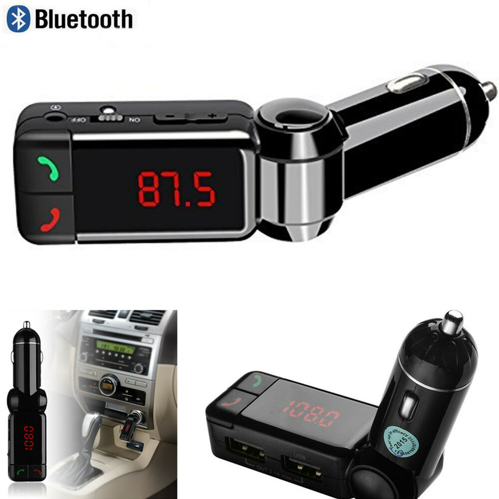 12v wireless bluetooth car kit charger mp3 fm transmitter. Black Bedroom Furniture Sets. Home Design Ideas