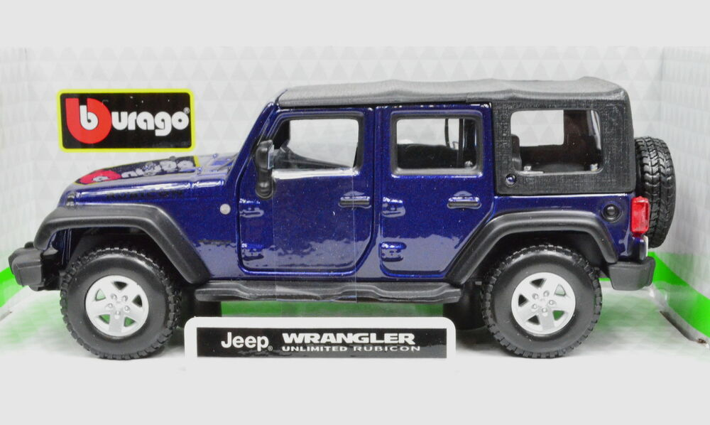 Jeep Wrangler Unlimited Rubicon dark blue Maßstab 1:32 von ...