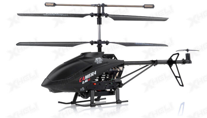 UDI U13A 3 Channel RC Spy Helicopter 2.4Ghz with Video Camera ...