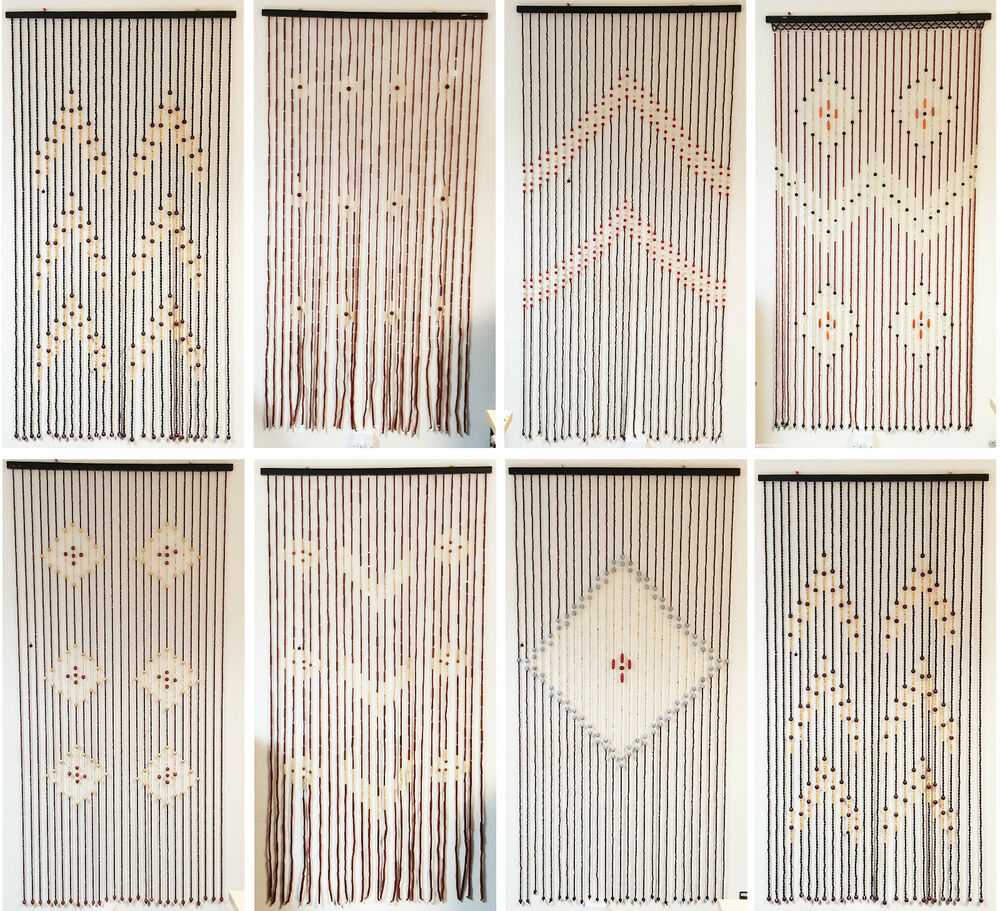 how to make door curtains with beads