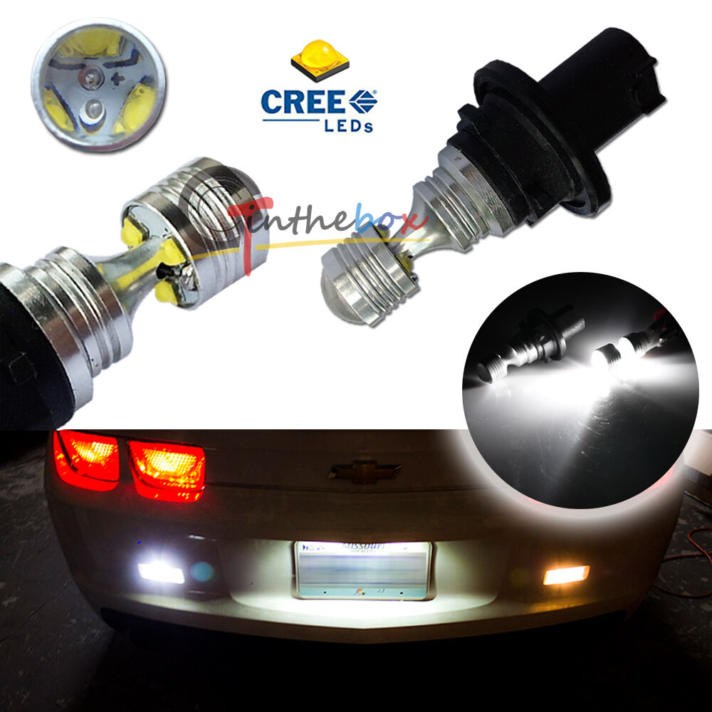 2pcs can bus white 30w cree led bulbs for 2010 2013 camaro. Black Bedroom Furniture Sets. Home Design Ideas