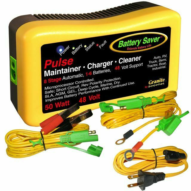 save a battery 48 volt 50 watt battery charger maintainer. Black Bedroom Furniture Sets. Home Design Ideas