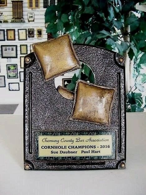Corn Hole Cornhole Plaque Award Resin Trophy Free