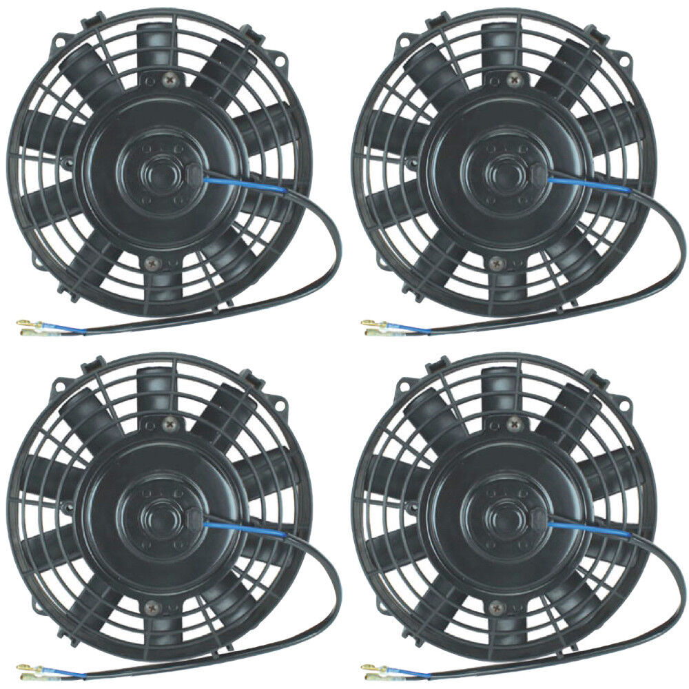 4 Inch 12 Volt Fan : Quad quot inch electric fans v atv auto engine cooling fan