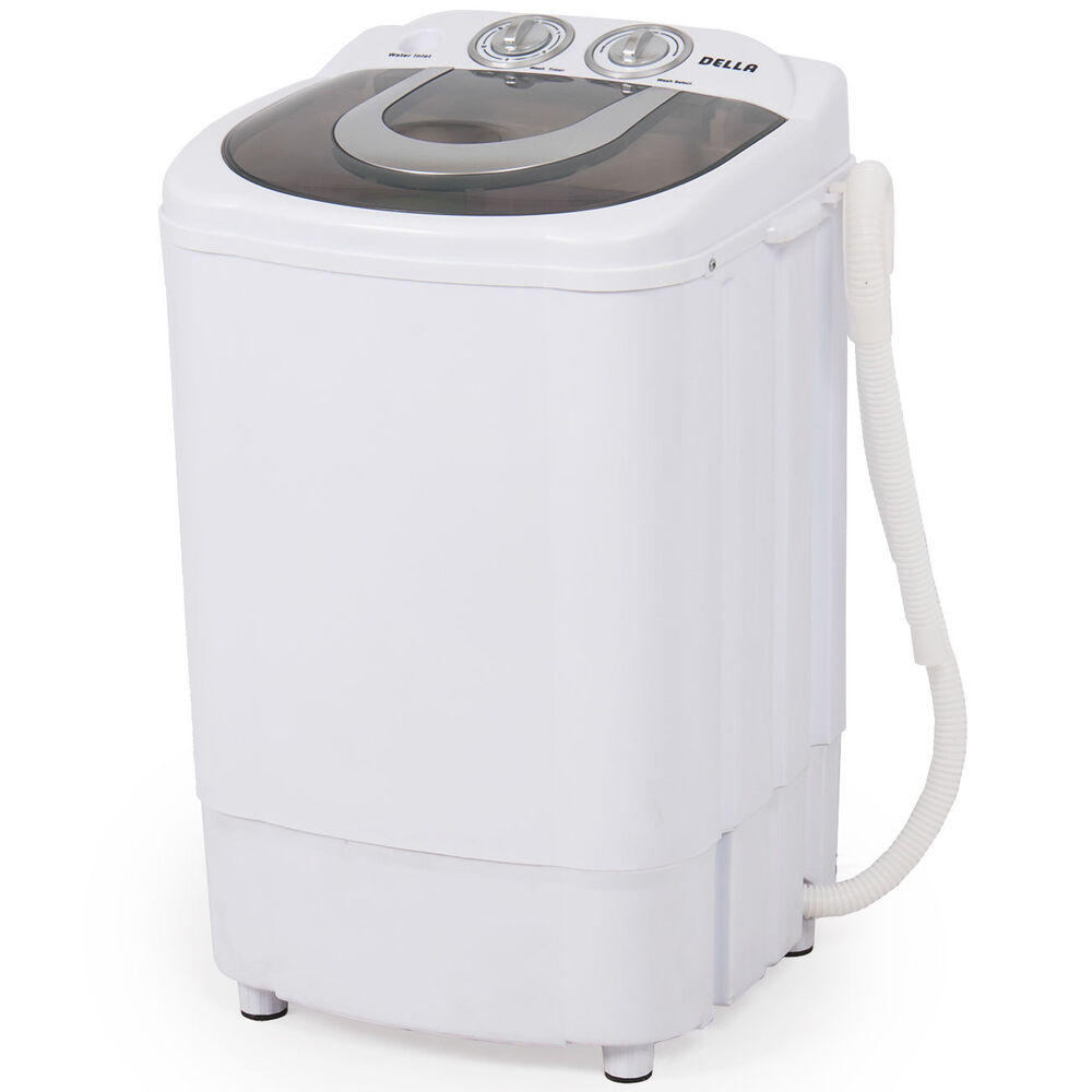 Mini Portable Washing Machine Spin Wash 8 8lbs Capacity