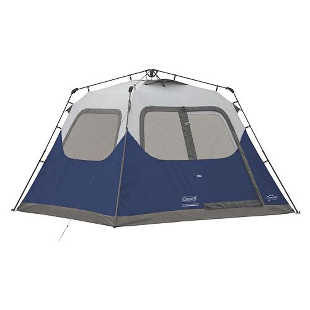 coleman 6 person 10 x 9 instant cabin family camping 88883