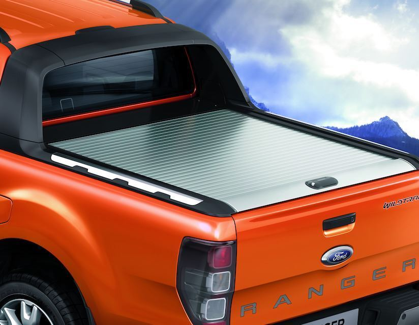 Ford ranger 2016 mountain top tonneau cover roller type for Types of bed covers