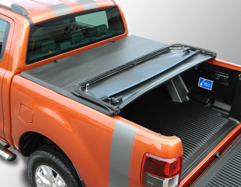 Ford Ranger 2016 Nlg Tonneau Cover Soft Double Cab Tri Folding Load Bed Cover Ebay