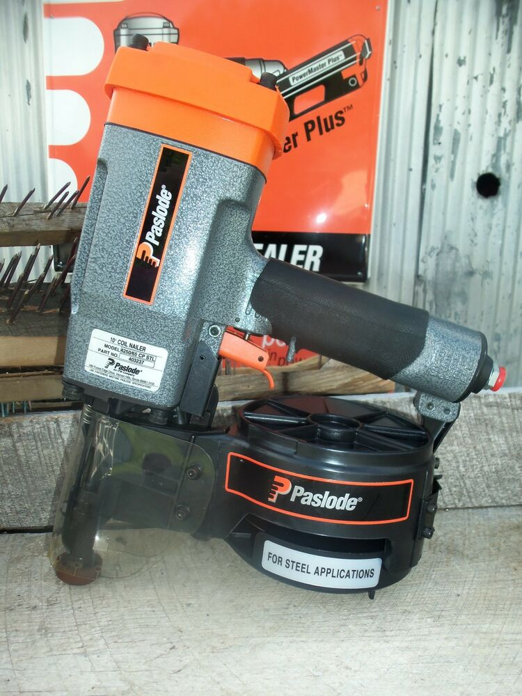 Quot New Quot Paslode 10 176 Coil Nailer Wood To Steel Applications