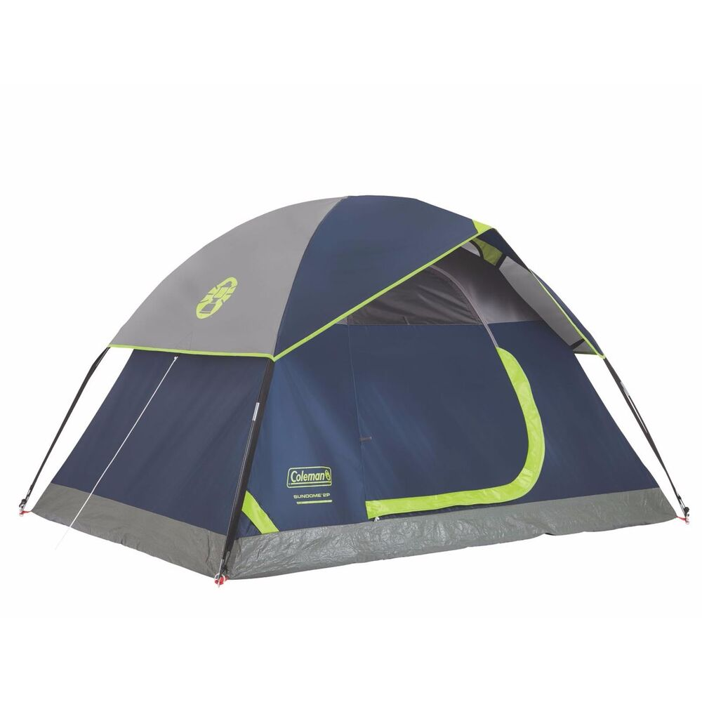 Coleman Sundome 2 Person Outdoor Hiking Camping Tent W