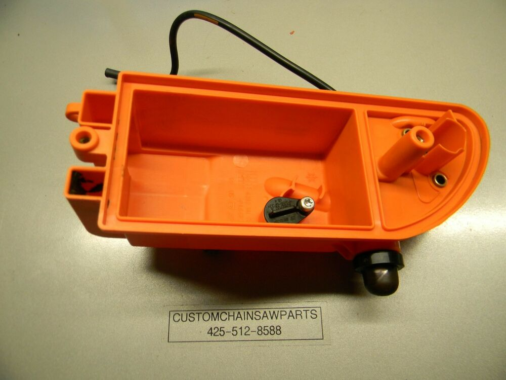 Air Filters For Blowers : Stihl blower br air filter mount