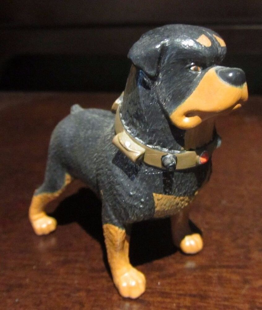 rare disney pixar up beta rottweiler dog pvc figure statue. Black Bedroom Furniture Sets. Home Design Ideas