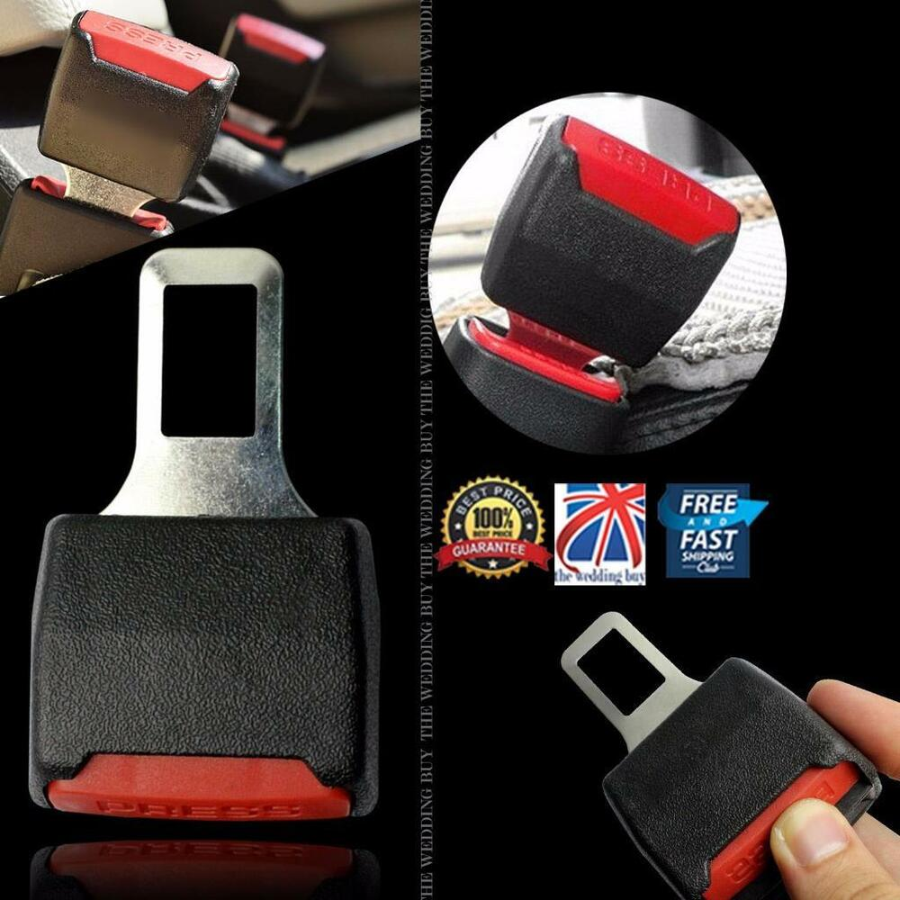 2 Pcs Car Seat Belt Clip Buckle Extender Support Safety