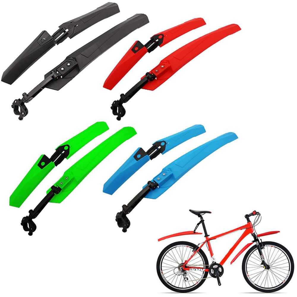 UK Front//Rear Mud Guards Mudguard Fenders For Mountain Bicycle Bike Cycling