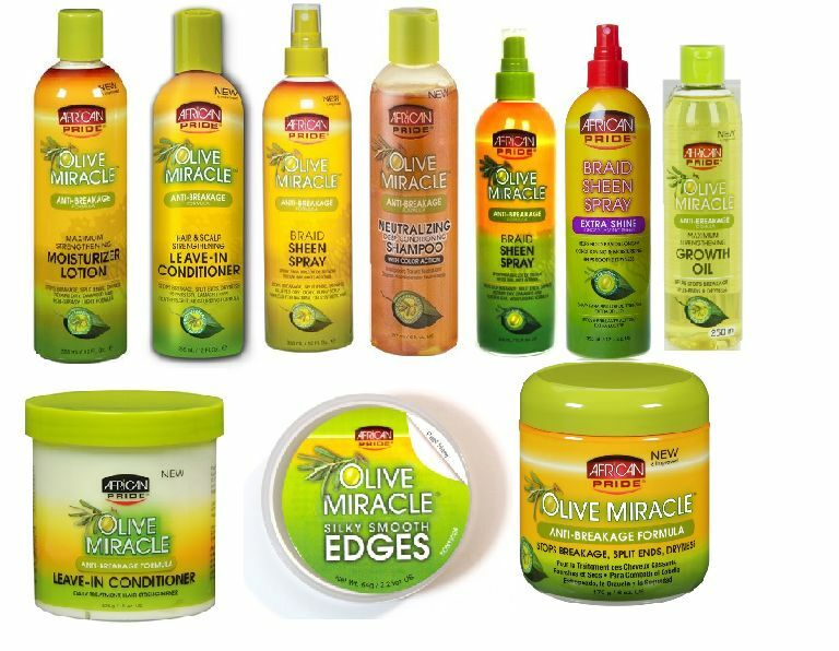 African Pride Olive Oil Formula Miracle Moisturising Hair ...