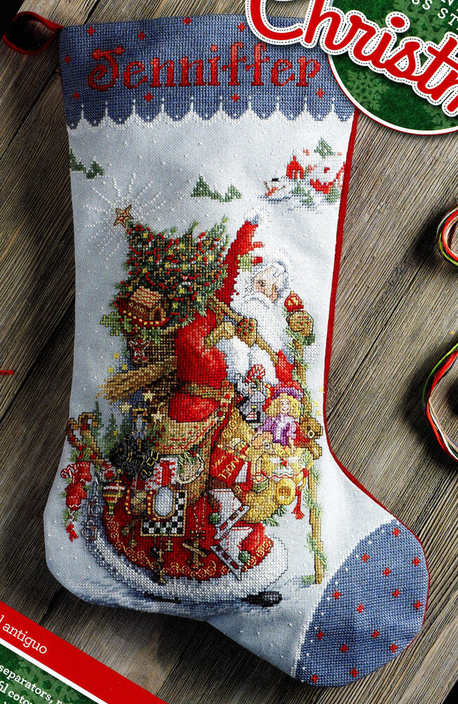 Cross Stich Christmas Stockings