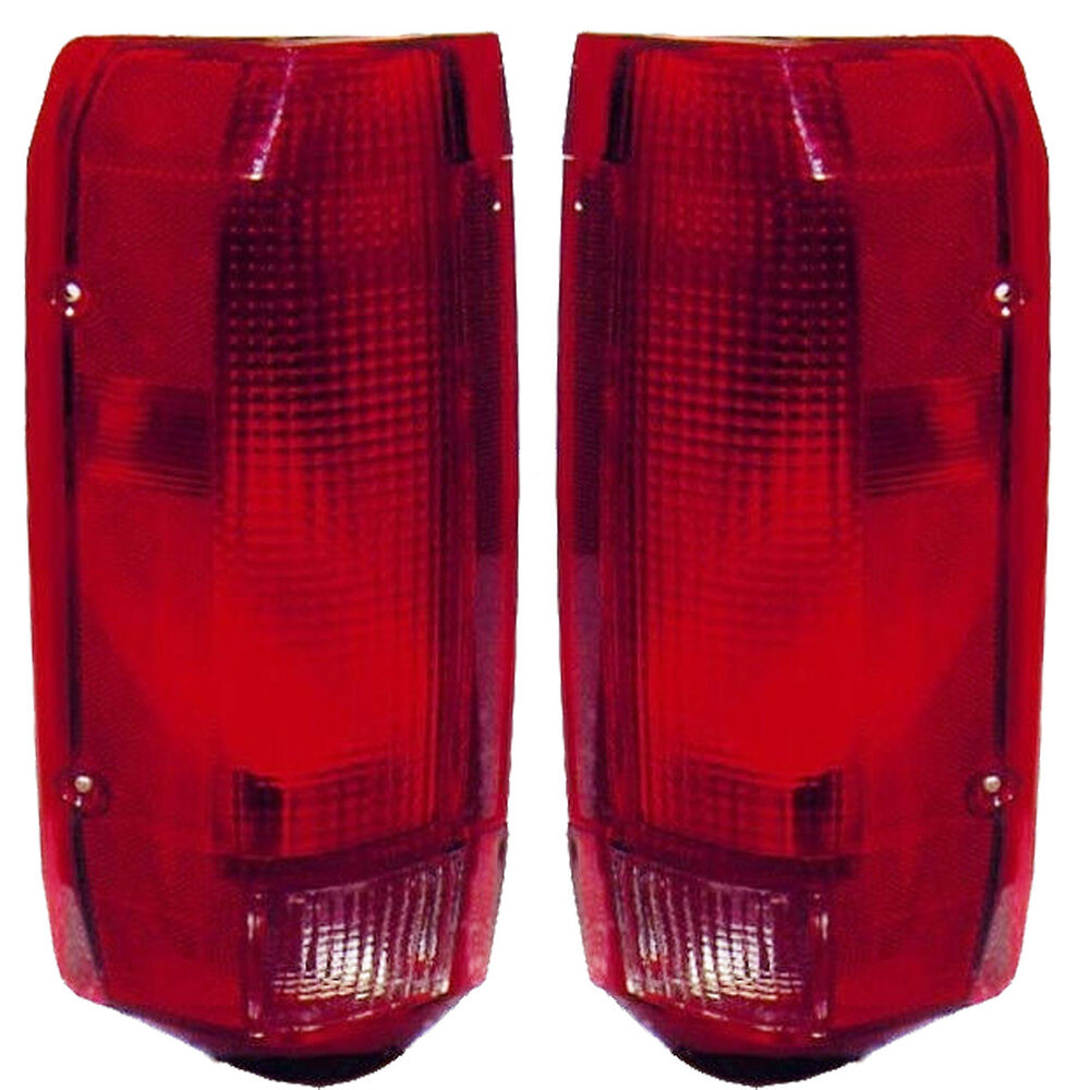 New Pair Of Tail Lights Left Amp Right Fits 1992 1996 Bronco
