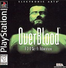 OVERBLOOD PS1 PLAYSTATION 1 DI...