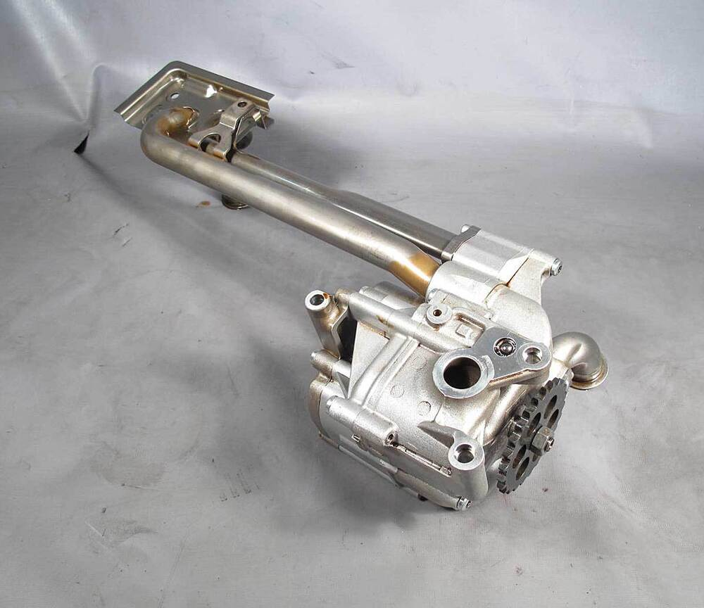 Bmw s85 5 0l v10 m5 m6 main oil pump w sprocket gear for Who picks up used motor oil