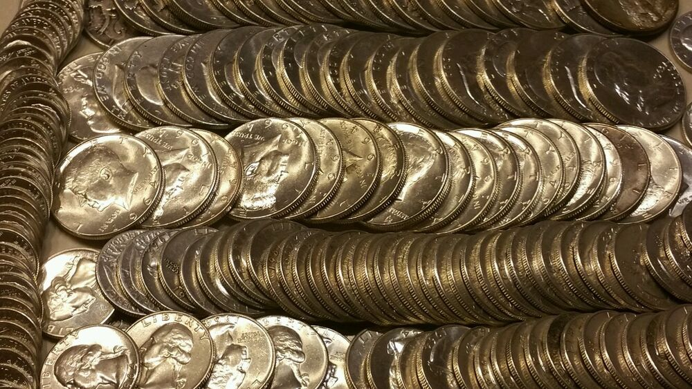 1 Pound 90 Silver Coins Premium Quality Min Wear Not