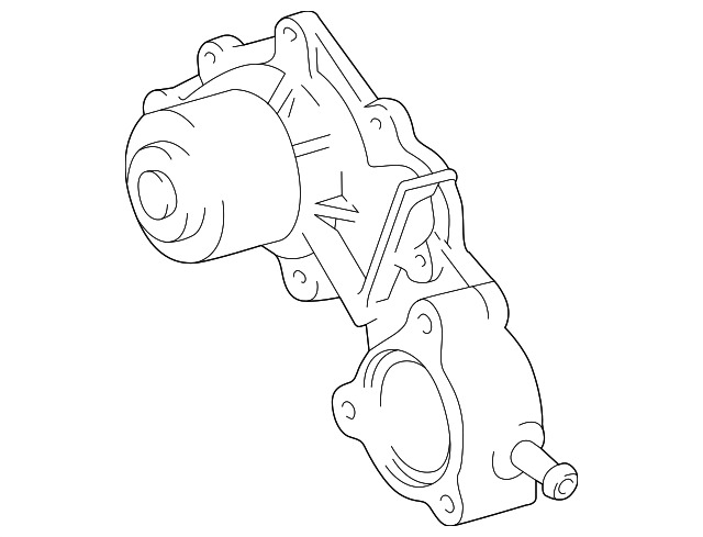 Genuine Toyota Water Pump Assembly 16100 69398 83