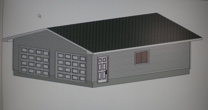 24 39 X 30 39 Garage Shop Plans Materials List Blueprints