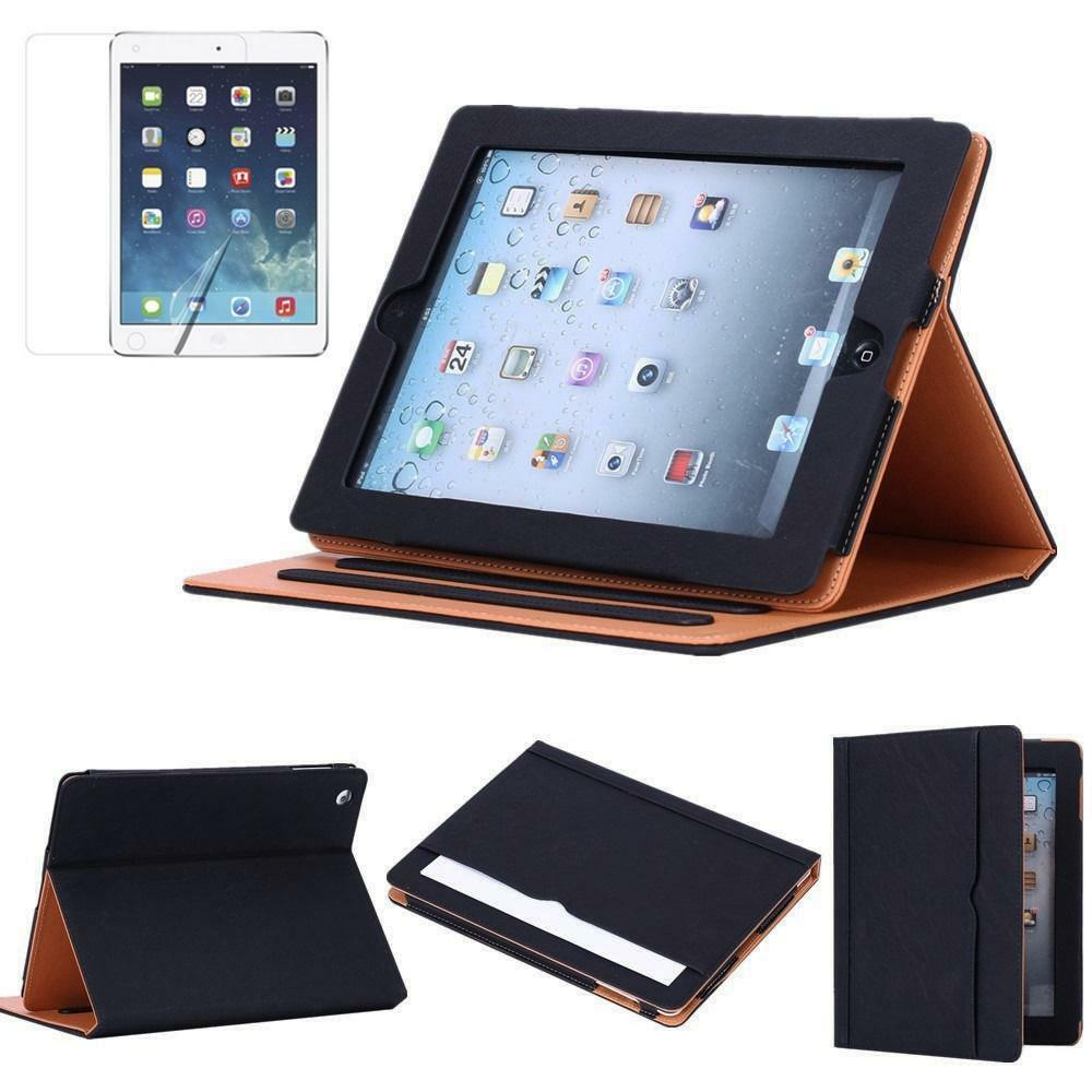 folio patterns luxury leather smart case cover stand for ipad 2 3 4 air 1 2 mini ebay. Black Bedroom Furniture Sets. Home Design Ideas