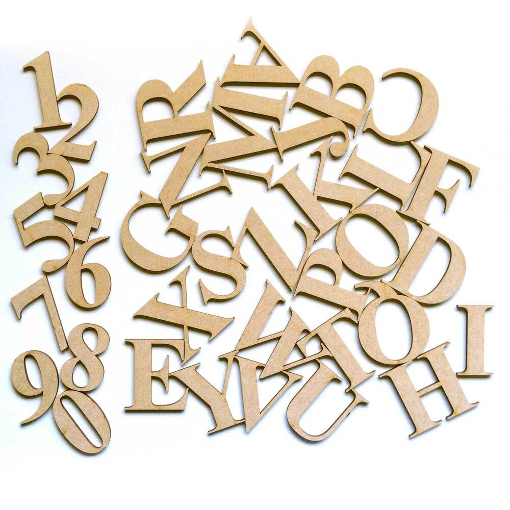 Times New Roman Wooden Letters Amp Numbers Alphabet Letters