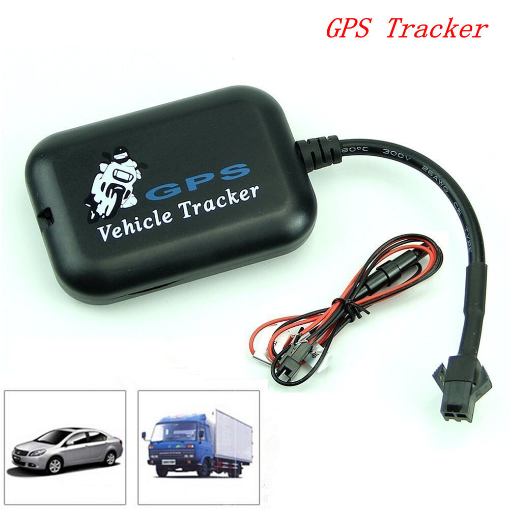 mini portable car tracker gps gsm gprs real time global tracking locator device ebay. Black Bedroom Furniture Sets. Home Design Ideas